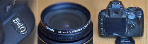 Everything is in very good condition and 100% operational. Included is a Tiffen brand UV filter that's always been on the lens for protection.
